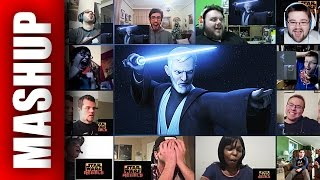 Download STAR WARS REBELS SEASON 3 Mid-Season Trailer Reactions Mashup Video