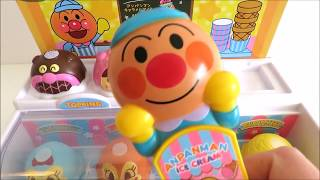 Download Toy ice cream parlor Anpanman アンパンマン learn colors for babies toddlers Video