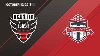 Download HIGHLIGHTS: D.C. United vs. Toronto FC | October 17, 2018 Video