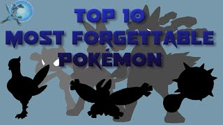 Download Top 10 Most Forgettable Pokémon Video