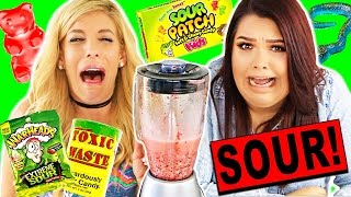 Download SOUREST GUMMY DRINK IN THE WORLD CHALLENGE! (Toxic Waste, Warheads, Citric Acid) Video