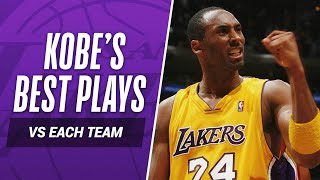 Download Kobe Bryant's BEST PLAY vs EVERY NBA TEAM In His Career! Video