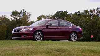 Download 2013 Honda Accord first drive | Consumer Reports Video
