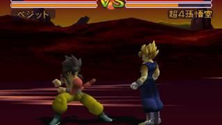 Download Tjay replays Dragon Ball GT Final Bout - Vegito Vs. SSJ4 Goku (Demo On) Video