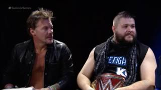 Download Tom Phillips vs Kevin Owens and Chris Jericho Video