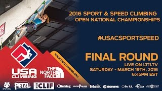 Download Sport & Speed National Championships • Finals • 3/19/16 • 6:45PM EDT Video