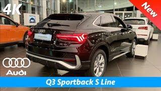 Download Audi Q3 Sportback 2020 (S Line) - FULL in-depth review in 4K   Interior - Exterior vs Q3 Video