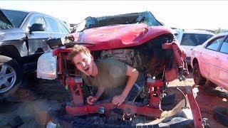 Download HUNDREDS OF DESTROYED CARS! Video