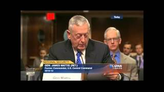 Download Gen. Mattis Rips Obama Foreign Policy at Hearing | SUPERcuts! #155 Video