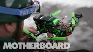 Download This Is How You Race a Drone in the Snow (FPV) Video