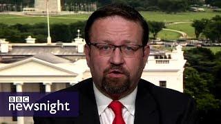 Download Sebastian Gorka on President Trump's Twitter feud with London Mayor - BBC Newsnight Video
