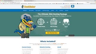 Download How To Make a WordPress Website (or Blog) with HostGator Video