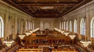 Download Time Lapse: Thousands of Books Get Reshelved Before the Rose Main Reading Room Reopens Video