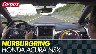 Download Honda Acura NSX 2017 - First drive at the Nürburgring Nordschleife (on board) Video
