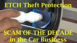 Download CAR SCAM OF THE DECADE - Dealer Window Etch Theft - (13 Car Buying Mistakes - Kevin Hunter) Video