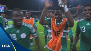 Download Worthy winner lifts Flying Eagles over England Video