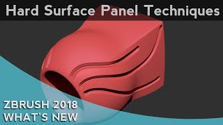 Download 043 ZBrush 2018 Hard Surface Panel Techniques Video