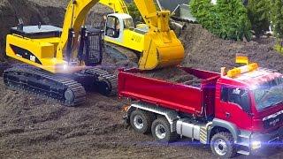 Download MEGA!! RC MODEL CONSTRUCTION SITE ACTION VOL.6 *RC TRUCKS*RC EXCAVATOR*CAT*MAN Video