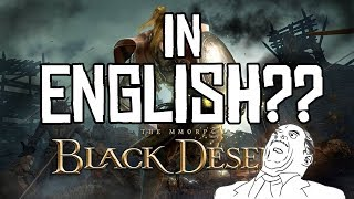 Download Black Desert Online Türkiye and MENA English Language for Menus in game! Video