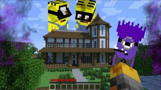 Download GIANT EVIL MINIONS ATTACK MY MINECRAFT HOUSE !! Minecraft Mods Video