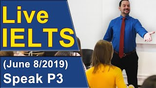 Download IELTS Live - Speaking Part 3 - Practice for Band 9 Video