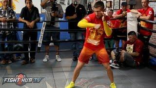 Download Vasyl Lomachenko's FULL shadow boxing workout - Lomachenko vs. Marriaga video Video