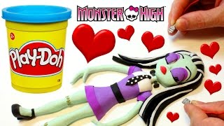 Download Monster High Doll Frankie Stein PLAY DOH BEST STOP MOTION VIDEOS Dolls Video