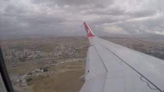 Download Turkish Airlines landing Kayseri Video