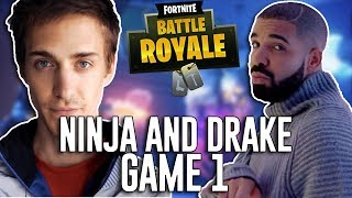 Download Ninja and Drake Play Duos!!! - Fortnite Battle Royale Gameplay - Game 1 Video