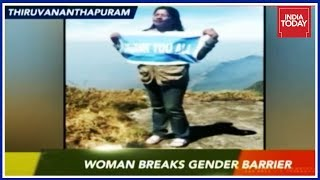 Download South Super Fast | Dhanya Sanal First Woman To Trek Agasthyarkoodam Peak After Court Ban Lifted Video