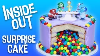 Download INSIDE OUT SURPRISE CAKE - NERDY NUMMIES Video