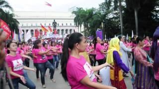 Download One Billion Rising PH dance Nov. 30 2012 Video