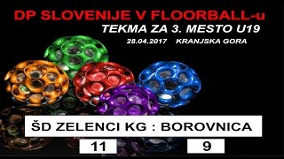 Download ODLOČILNA TEKMA ZA 3. MESTO FLOORBALL Video