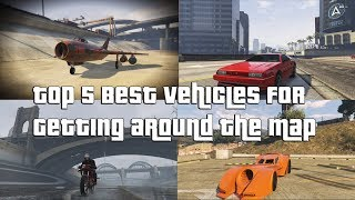 Download GTA Online Top 5 Best Vehicles For Getting Around The Map Fast Video