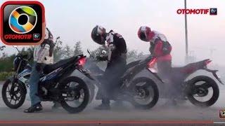 Download Komparasi Honda Sonic 150R, Suzuki Satria F150, Yamaha MX King 150 Video
