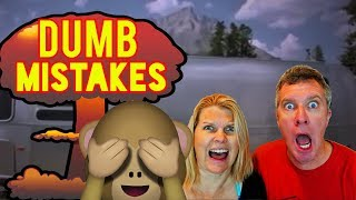 Download 🙈4 DUMB MISTAKES We've Made RV Camping! Video