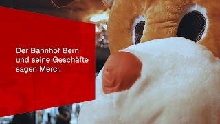 Download Der Bahnhof Bern und seine Geschäfte sagen Merci. Video