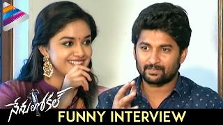 Download Nani and Keerthy Suresh Funny Interview | Nenu Local Movie | Dil Raju | DSP | NenuLocal Video