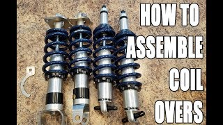 Download How to assemble coil overs for your car! Video