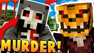Download CRAZY LUNATIC KILLER ON THE LOOSE - MINECRAFT MURDER MYSTERY Video