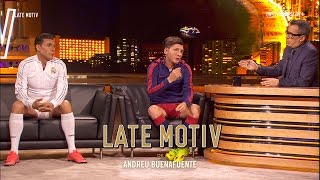 Download LATE MOTIV - Cristiano y Messi by Martín Bossi | #LateMotiv37 Video