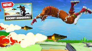 Download *NEW* ROCKET DODGEBALL Custom Gamemode In Fortnite Battle Royale! Video