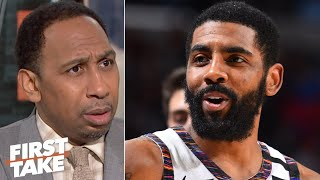 Download Stephen A. is 'incredibly disappointed' in Kyrie Irving | First Take Video
