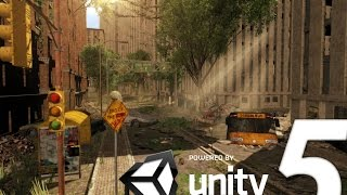 Download Speed Level Design : Apocalyptic City - Unity 5 Video