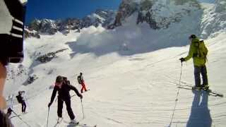 Download Chamonix - Vallee Blanche - Avalanche [2013] Video