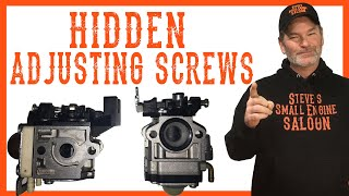 Download Hidden Adjusting Screws on Some Trimmers and Blowers Video Video