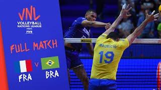 Download France v Brazil - Full Match - Final Round Pool A   Men's VNL 2018 Video