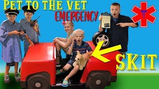 Download Trouble at the Vet! Family Fun Pack Playtime Skit Video