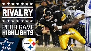 Download Steelers Edge Cowboys in Cold Classic | Game Highlights (Week 14, 2008) | NFL Video
