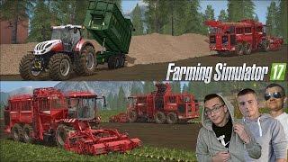 Download Farming Simulator 17 MP ☆ Kopanie buraków 2016 na większa skalę #3 Saitek ㋡ MafiaSolec Video